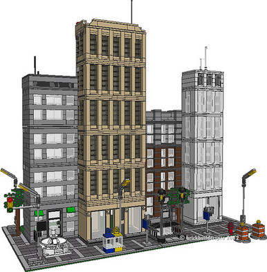 City Center I PDF Instructions - Brickbuilderspro Store