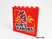 Panel Bob's Kabob Franchise Large Sign 1x5x6