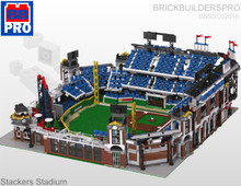 Stackers Stadium Pro Baseball Park PDF Lego Instructions