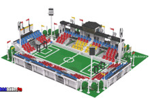 Soccer Football Stadium PDF Instructions