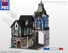 Village Train Station PDF Lego Instructions