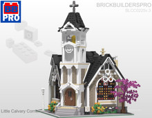 Little Calvary Corner Church PDF Lego Instructions
