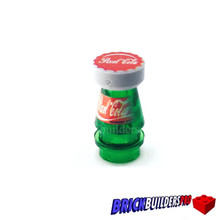 Pieces Pixel  Cola Bottle and Cap