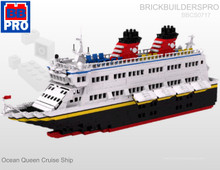 Ocean Queen Modular Cruise Ship PDF Lego Instructions