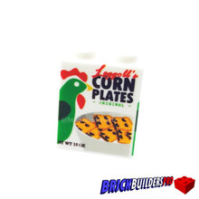 Food Brick Corn Plates Cereal 1x2x2