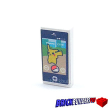 Tile Cell Phone Pika Catch Go Game App 1x2