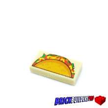 Tile Taco Mexican Food 1x2