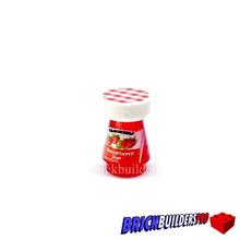 Brick Strawberry Jam Jar 1x1