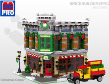 Christmas Corner Modular General Store PDF Lego Instructions