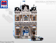 First Central Police Department Modular PDF Lego Instructions