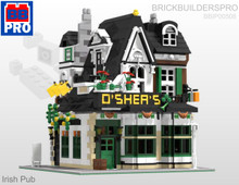 Irish Pub Modular PDF Lego Instructions