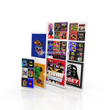 Stickers: Comic Book Shop