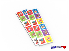 Stickers: Cereal Box Labels