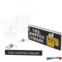 Coffee Chain Shop MOC Pack