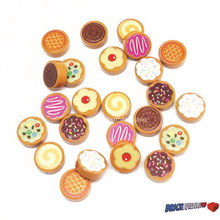 Lot Cookie and Biscuit Tiles 24 Pack