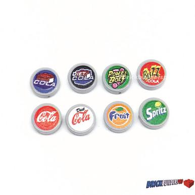 soda machine button