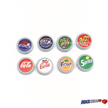 Lot Soad Vending and Machine Button Tiles 8 pack