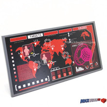 Tile 8x16 Red Special Ops Main Frame Computer Display