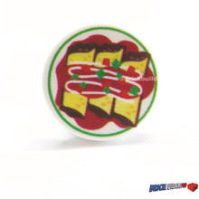 Tile Enchilada Tex Mex Food Plate