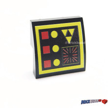 Space Computer Type 2 Black Red Buttons 2x2