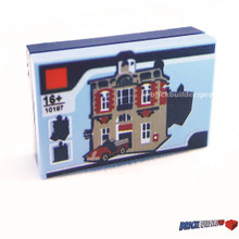 Pieces Toy Block Firehouse