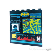 (PRE ORDER) Panel Computer Bat Cave 1x5x6 (Black)