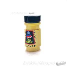 Brick 1x1 Round Deli Stone Mustard
