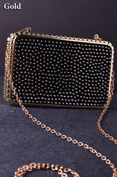 Gold Chain Clutch