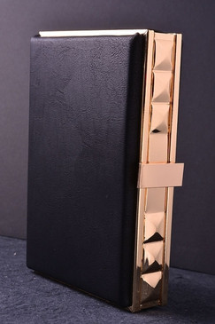 Black Abstract Clutch