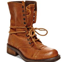 Steve Madden Troopa 2.0 Boots, Cognac
