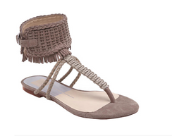 Dolce Vita Reagan Almond Suede Sandals
