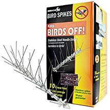 Stainless Steel Bird Spikes - 3 Meters per box