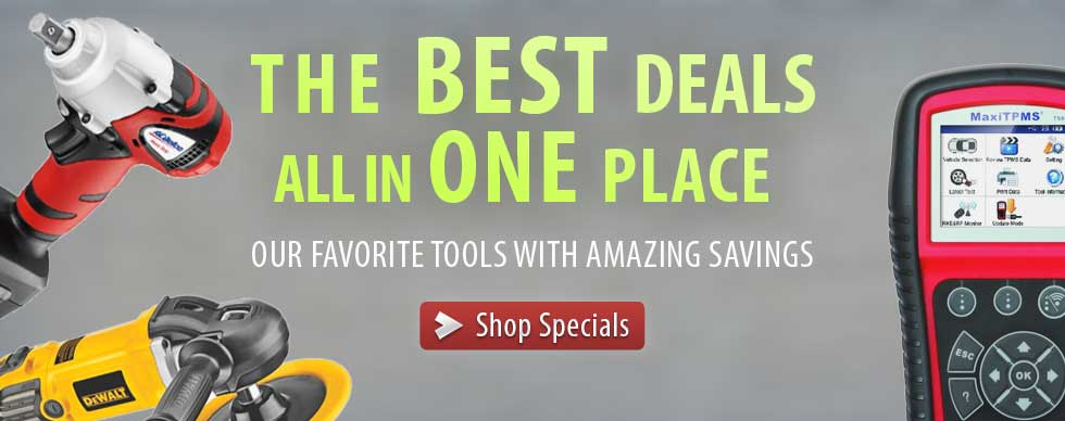 The best price online for these Auto Tool Specials
