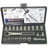 Gearwrench 8921 21 piece GearRatcheting Socket Set