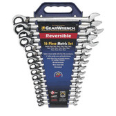 Gearwrench 9602N 16 piece Reversible Double Box Ratcheting Socketing Wrench Non Capstops Metric Set