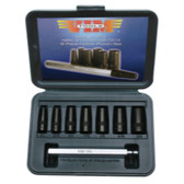 Vim Products P79 8 PIece Hollow Punch Set