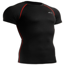 emfraa Black base layer short sleeve