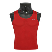 emfraa compression skin tight base layer red sleeve less