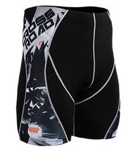 Fixgear skin under base layer running tight black shorts