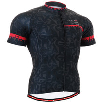 Fixgear cyclist biking jersey dark navy shirt