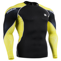 Under garments base layer black yellow unique shirts