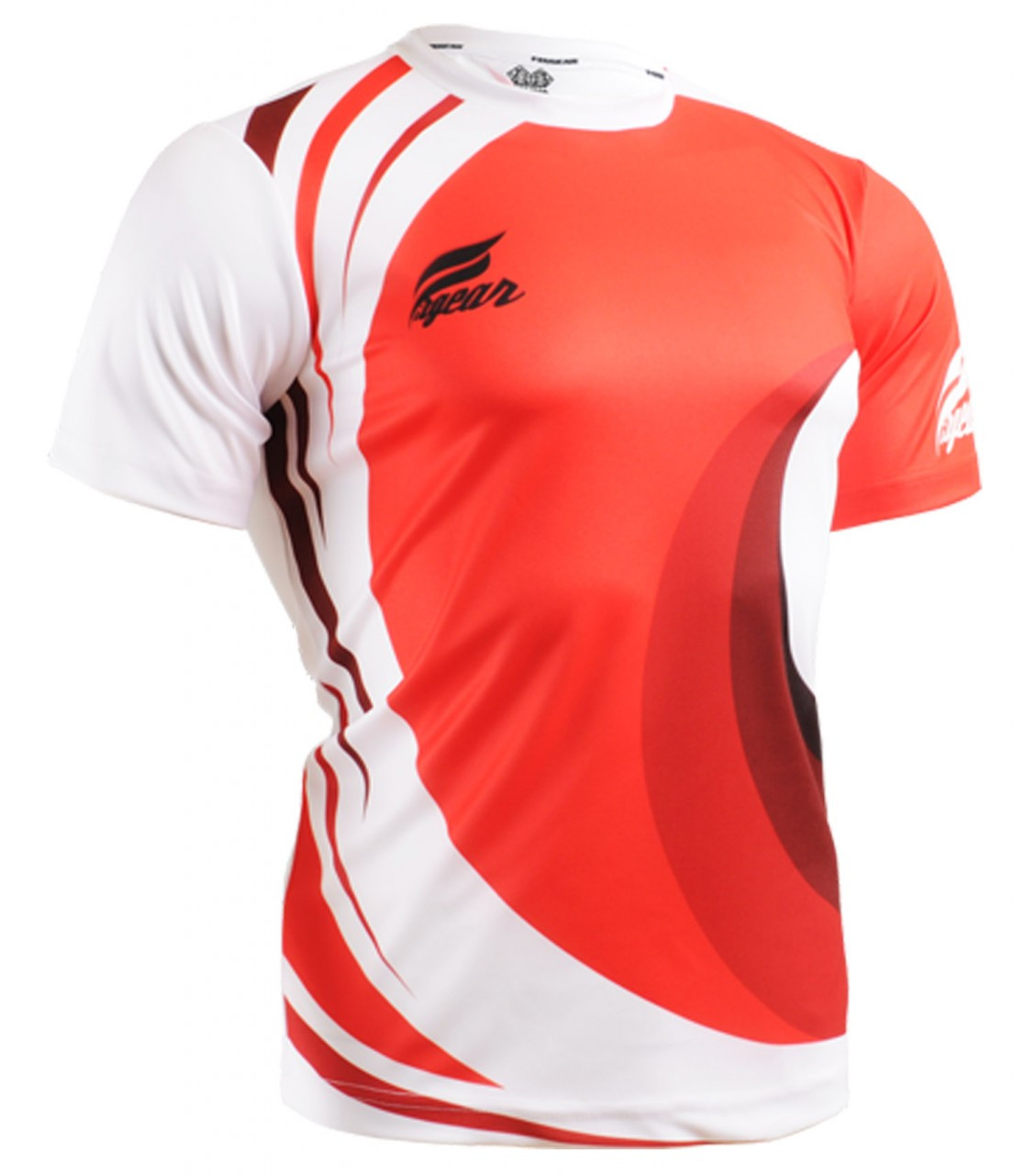 Fixgear sports red t shirts short sleeve provide best for Custom made sport shirts