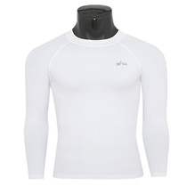 emfraa thermal base layer white Round Tee shirt