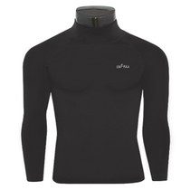emfraa thermal base layer Mock neck black shirt
