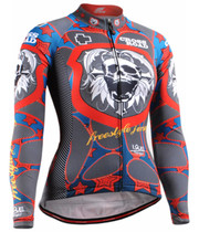 Fixgear women's bicycle Jersey long sleeve