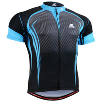 Fixgear cycling jersey short sleeve skyblue