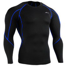 emfraa compression skin tight shirt black