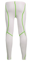 Fixgear Base layer Skin Tights Running MMA White Pants S~XXL
