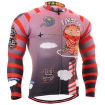 Fixgear Mens Winter Cold Weather Cycling gear Thermal Jersey XS~2XL