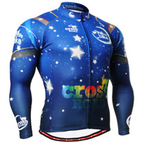 Fixgear Mens Thermal Winter Cycling Jerseys Long sleeve XS~2XL